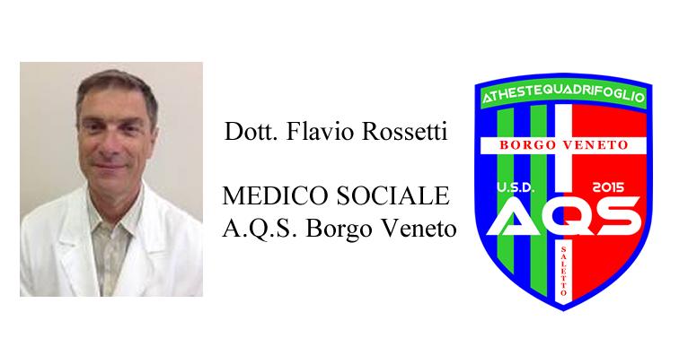 dott. Flavio Rossetti Medico Sociale AQS